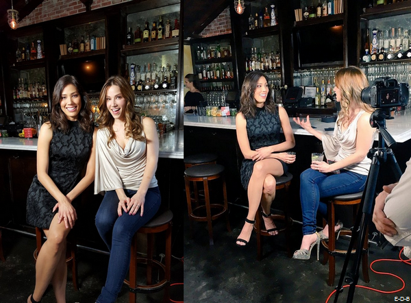 "Michaela pour Drinking with the stars ""The Wrap"" ♥"