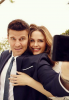 Photo: Emily & David pour la saison 9 de Bones ♥