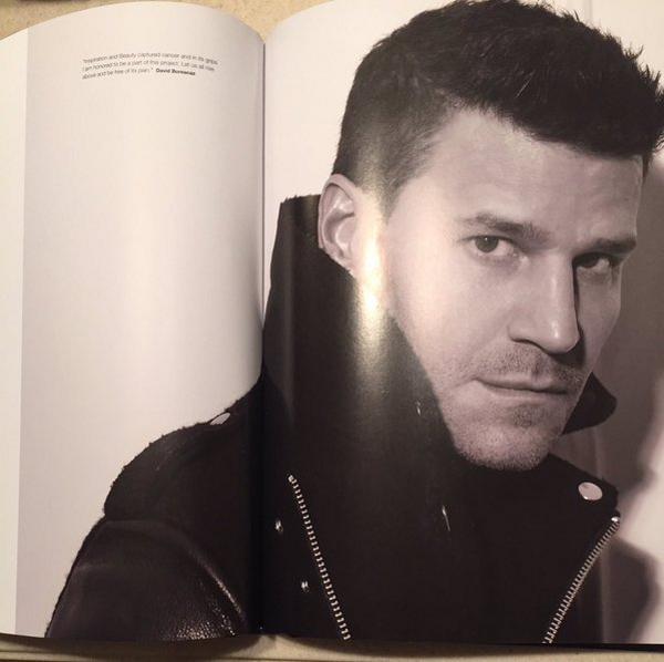 """Photo: David pour le livre """"Beauty Book for Brain Cancer"""" ♥"""