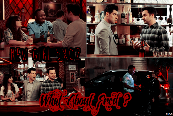 Photos Promos: New Girl 5x02 ♥