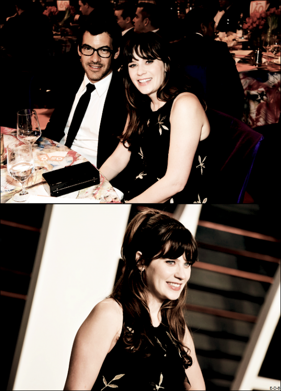 Events: Zooey au Vanity Faire Oscar Party le 28/02/16 ♥