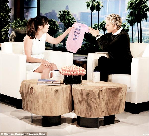 Events: Zooey au Ellen Degeneres Show le 03/03/16 ♥