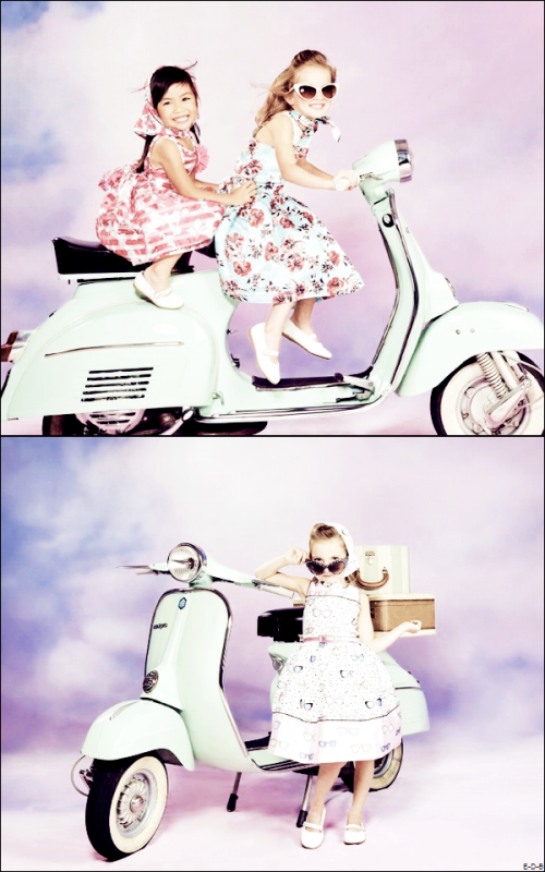 Photoshoot de Sunnie pour Child Fashion ♥