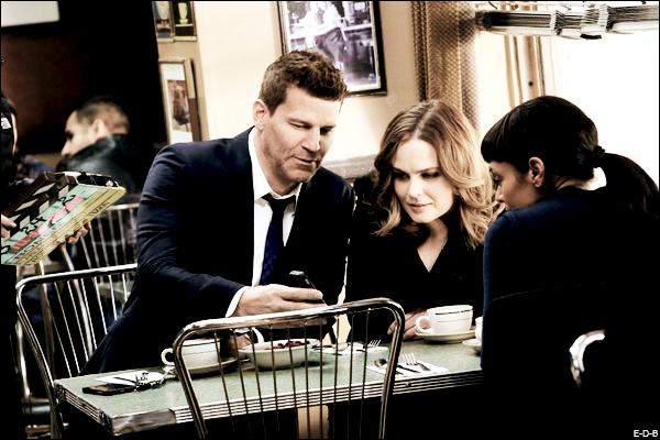 Photos BTS: Bones 11x11 ♥