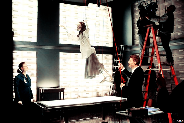 Photos BTS: Bones 11x13 ♥