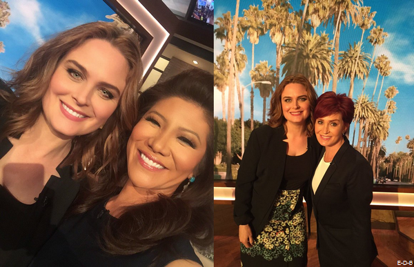 Emily Deschanel Interview on The Talk (May 5th, 2016)