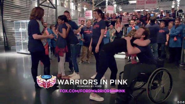 L'équipe de Bones pour Warriors in Pink ♥