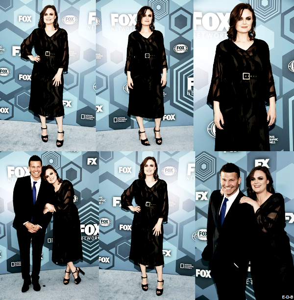 Events: Emily & David au Fox Upfronts 2016 le 16/05/16 (Suite) ♥