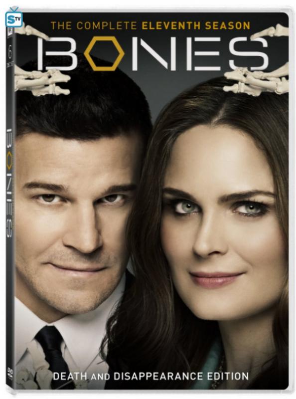 DVD De la saison 11 de Bones ♥