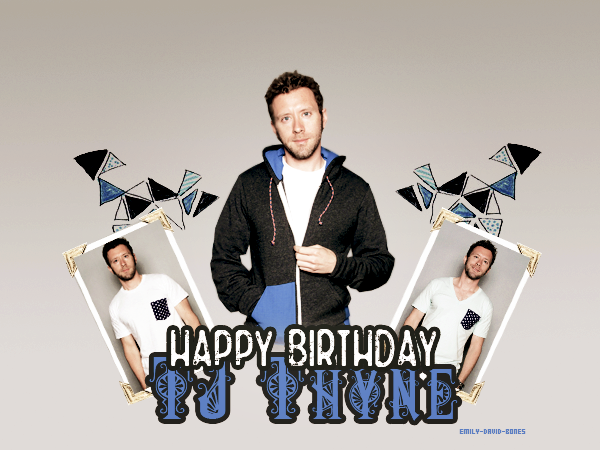 Happy Birthday TJ ♥