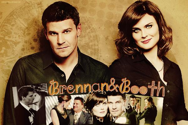 Brennan et Booth ♥