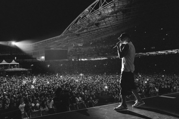 "Highlights de la tournée d'Eminem "" The Rapture  Tour 2014"""