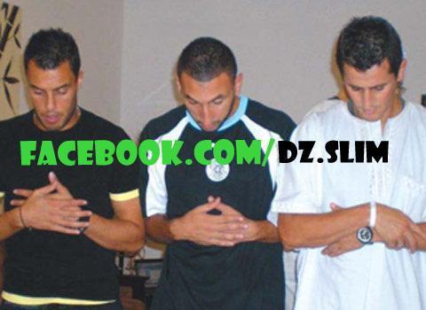 Belhadj , Mansouri et Saifi en Salat