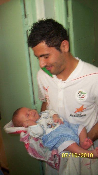 Antar yahia et son BB ( Mabrouk)