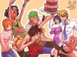 Anniversaire Luffy <3