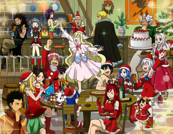 Joyeux Noel !! Fairy Tail !!^^