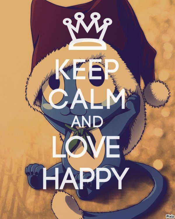 Keep Calm and love Happy !! X)
