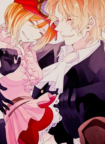 Image d'un nouveau couple dans one piece que j'aime bien <3