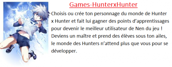Games-HunterxHunter