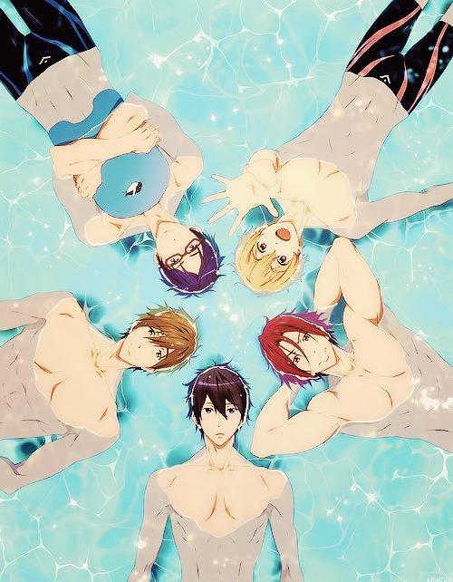 Le manga Free ! :P