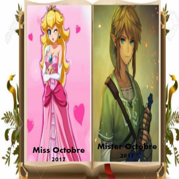 Miss et Mister Septembre 2017