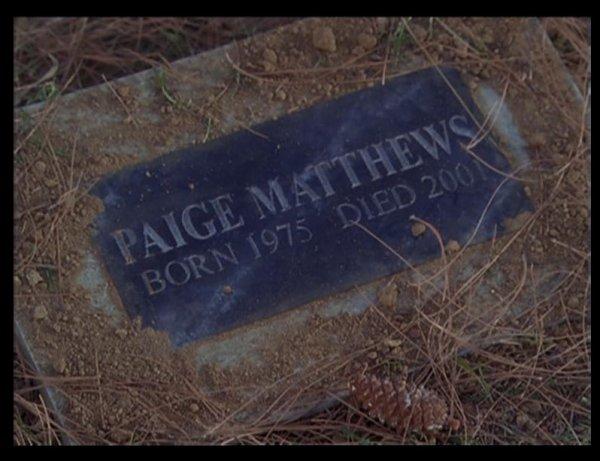 Paige Matthews Née En 1977 Et Pas En 1975