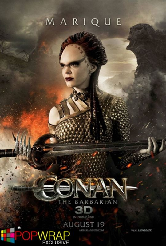 """Conan"" Prochaine film avec Rose McGowan"