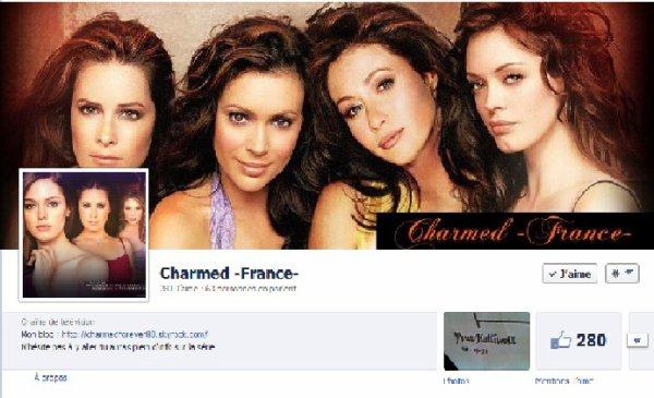 Facebook : Charmed -France-