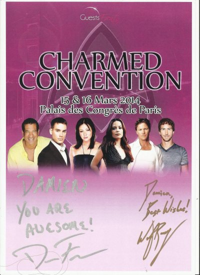 Convention Charmed (15 & 16 Mars 2014)
