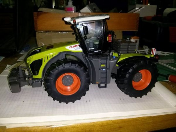 claas xerion 4000 trac vc et saddle trac