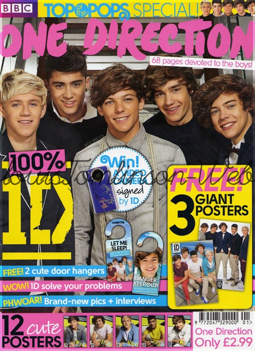 - Scans du magasine Top Of The Pops. -