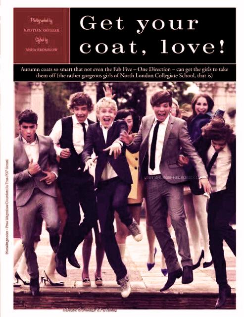 - Les One Direction dans le Tatler magazine. -