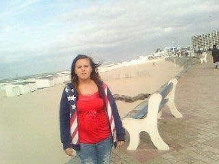 moi a la plage de boulogne sur mer