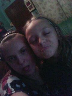 moi et ma soeur en plein delir