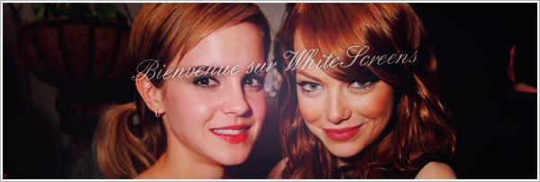 • Bienvenue sur WhiteScreen ~ Ta source cinématographique •