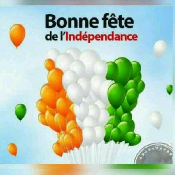 Bonne fête  d'indépendance