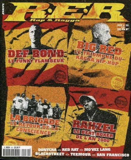 RER : Rap Et Ragga n°25 au n°32