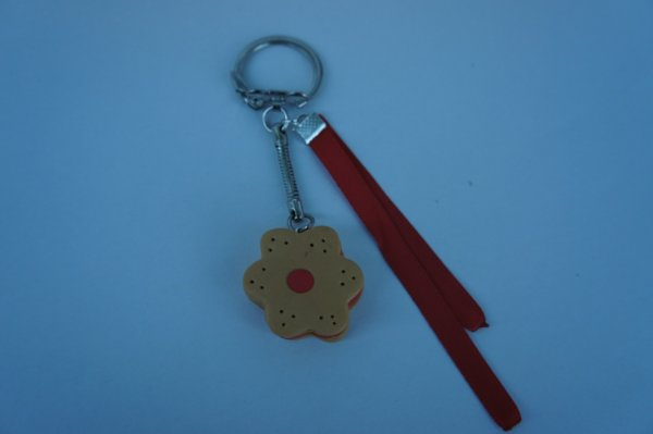 porte clé biscuit