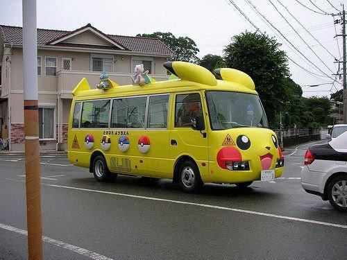 Je veux que ce bus vienne me chercher à ma maison :)