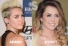 AVANT OU APRES ?  Miley Cyrus