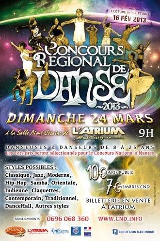 Concours Régional de danse 2013