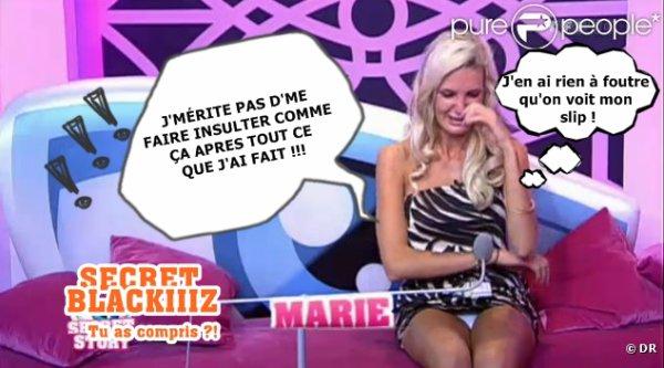 SECRET STORY 5 - Marie : Trop excessif ?