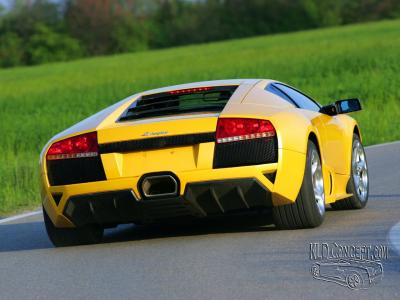 Lamborghini Murcielago Jaune Le Monde Lamborghini