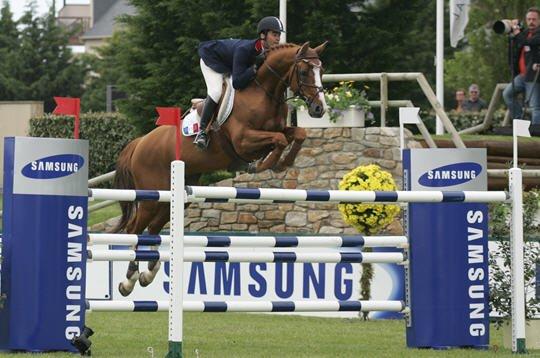 Le saut d'obstacle une grande confiance entre son cavalier(e) & son cheval. ♥