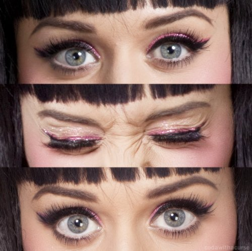Maquillage de ma belle Katy: