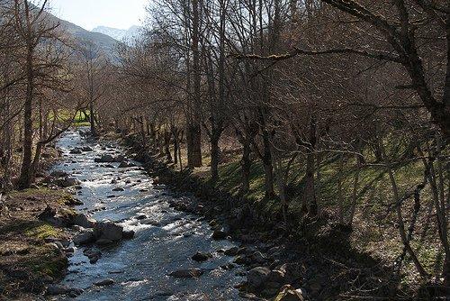 au fil de la Garonne - VAL D'ARAN - VIELHA Espagne