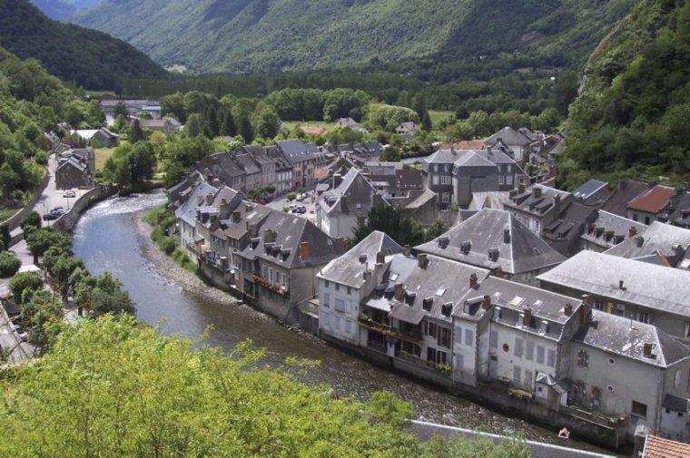 au fil de la Garonne à St BEA et MONTREJEAU