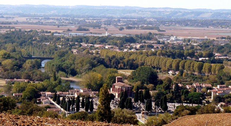 au fil de la Garonne à SALIES DU SALAT et CARBONNE et MURET (31)