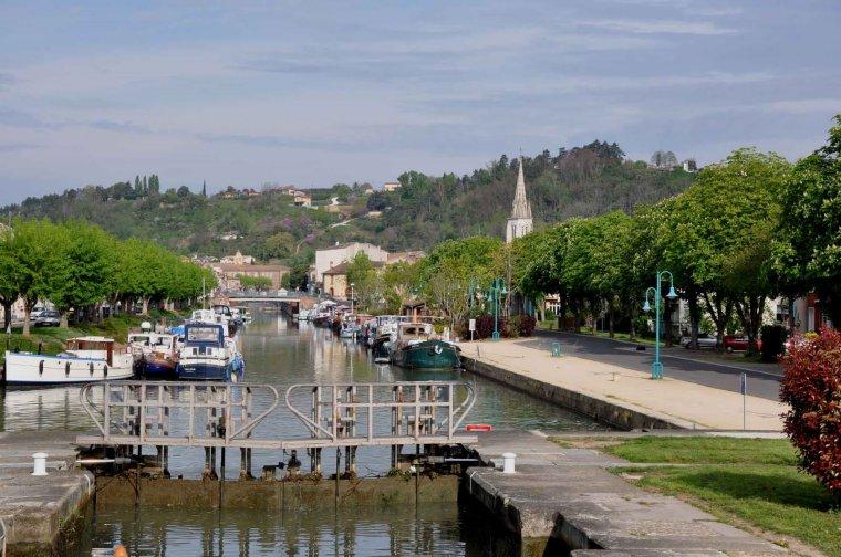 au fil de la Garonne VERDUN/Garonne - CASTELSARASIN Tarn et Garonne
