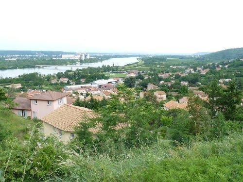 AU FIL DU RHÔNE en France - St MICHEL/RHONE et CHAVANAY (Loire)